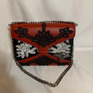 Alexander McQueen pin Bag in multicolor